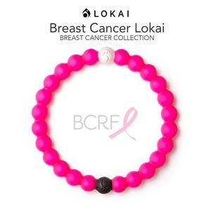 """Lokai Bracelet """"Breast Cancer"""" HOT PINK"""
